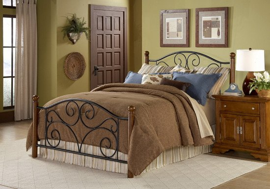 Fashion Doral Queen Bed